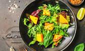 Новите есенни предложения за салата и основно или салата, основно и десерт