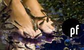 Eксклузивно за двама на цената на един! 30 минути масаж и пилинг на ходила с рибките Garra Rufa