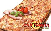 Фамилна пица на пещ, по избор - за вкъщи