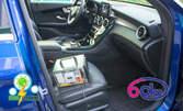 Озонова дезинфекция на купето на лек автомобил, джип или микробус