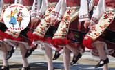 Месечна карта с 8 посещения на народни танци за начинаещи