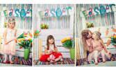 Великденска студийна фотосесия на едно дете с 15 обработени кадъра