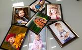 Отпечатване на 50, 200 или 300 снимки във формат 10х15, без или със 1 снимка в рамка
