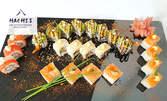 Салата Цезар с 4 суши хапки или суши сет с 24 хапки