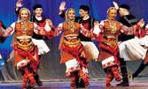 8 последователни посещения на народни танци