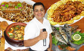 Вкусно хапване - в компанията на Оркестър Нашенци, в Бар Наздраве