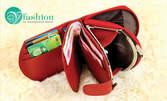 Дамски или мъжки портфейл от естествена кожа - в цвят по избор