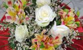 Букет, цветно дръвче или кошница с цветя