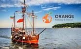 Гръцка вечер с узо, мезета и музика на кораб Пинта или Арабела! 2 часа морска разходка край Варна - на 11 Септември