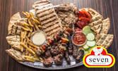 Плато за вкъщи - Сръбско мешано със свинско, телешко и пилешко месце, или Рибно асорти - с пъстърва, сьомга и сафрид