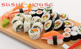 Суши за дома! Кибо Сет с 36 хапки - 24 рибни и 12 вегетариански