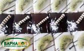 Плато с два вида петифури, плюс плато с дребни сладки