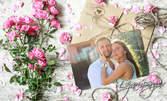 Романтична фотосесия на открито - с 30 обработени кадъра