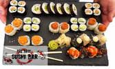 Суши сет за вкъщи с 38 хапки - без или със домашна лимонада или салата Уакаме