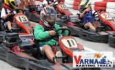 Повече адреналин! Наем за 5 минути или за 5 обиколки - на двоен картинг, картинг Sodi или TB Kart