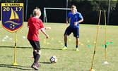 3 футболни тренировки за дете на 5 - 16г, плюс изготвяне на тренировъчен план и диета