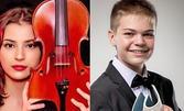 """Концерт с цигулка и пиано на Лора Маркова и Ивайло Василев - част от цикъла """"Вива ла музика"""", на 21 Октомври"""