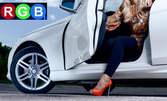 Смяна на 4 броя автомобилни гуми с демонтаж, монтаж и баланс - на адрес на клиента