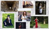 60 минути фотозаснемане на фотосесия, кръщене или рожден ден с всички сполучливи кадри