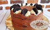 """Сладко изкушение за вкъщи! Торта """"Орео"""" с 12 парчета"""