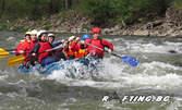 Рафтинг по река Искър с екипировка и инструктор