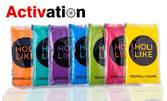 5 опаковки фестивална боя Holi Like в цветове по избор