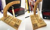 """Подарък за нерешителен приятел! Дървена игра """"Вземи решение"""""""