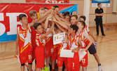 10 тренировки по баскетбол за дете от 5 до 12г