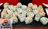 Вземи за вкъщи вкусен суши сет с 24 хапки