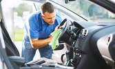 Комплексно измиване на лек автомобил, плюс нанасяне на вакса