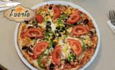 Салата и пица по избор, плюс чийзкейк