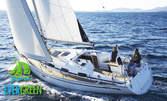 1 час разходка с яхта във Варненския залив или Варненското езеро