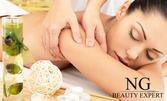 75 минути възстановяваща терапия - спортен дъбокотъканен масаж на цяло тяло, плюс рефлексотерапия на стъпала