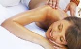 Релаксиращ антистрес масаж на цяло тяло и рефлексотерапия, плюс лифтинг масаж на лице