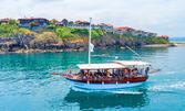 4-часов пикник с яхта Destiny край Созополския залив с включен обяд