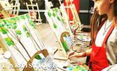 3 часа рисуване върху платно за деца и техните родители