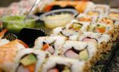 Суши сет по избор с 16 вкусни хапки! Хосо маки, Футо маки или Ура маки