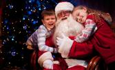 20 минути посещение на Дядо Коледа в дома ви