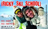 На ски в Боровец! Пълно оборудване под наем за теб или малчугана - ски, обувки и щеки