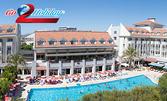 Лятна почивка в Анталия! 7 нощувки на база All Inclusive в хотел Seher Sun Beach****, плюс самолетен транспорт