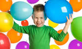 Детски рожден ден или бебешко парти, за до 7 деца - без или със меню