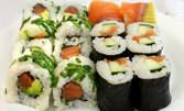 Време е за суши! Малък Салмон туна сет, Рейнбол сет или Двоен Сьомга сет