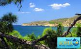 На море в Гърция! 7 нощувки със закуски на остров Тасос - на 100м от плажа