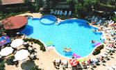 В разгара на лятото в Слънчев бряг! Нощувка за двама, плюс басейн и паркинг - на 100м от плажа