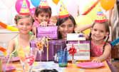 Рожден ден за до 7 деца! 2 часа парти в детски кът, меню и атракциони
