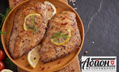 Пилешка пържола, татарско кюфте, 10 кебапчета или кюфтета със салата или микс от колбаси - за вкъщи