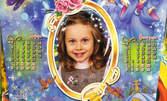 Стенен или детски календар с ваша снимка