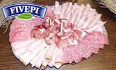 Деликатесно плато по избор - с 4 вида сирена или 4 вида колбаси