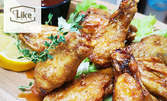 Вкусно хапване за вкъщи! Пържени пилешки крилца, тортила, пица или бургер