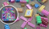 Забавно за малчугана! Конструктор Happy Blocks в свежа раничка
